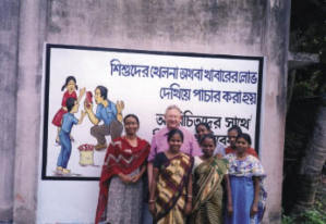 Bishop Bill Down and mambers of the Self Help Project